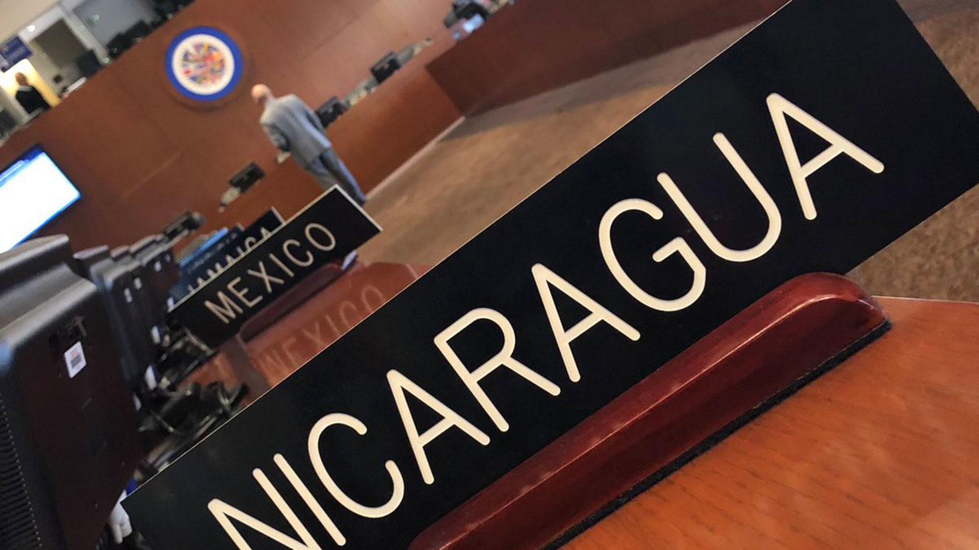 La OEA evalúa aplicar la Carta Democrática a Nicaragua