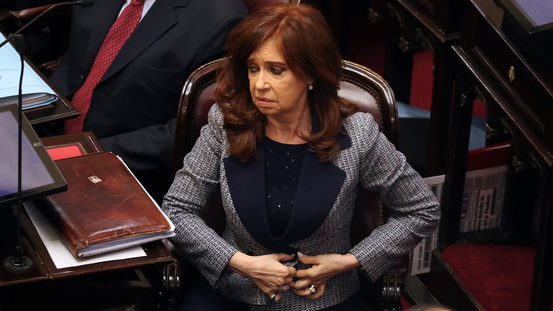 La ex presidenta y actual senadora Cristina Kirchner