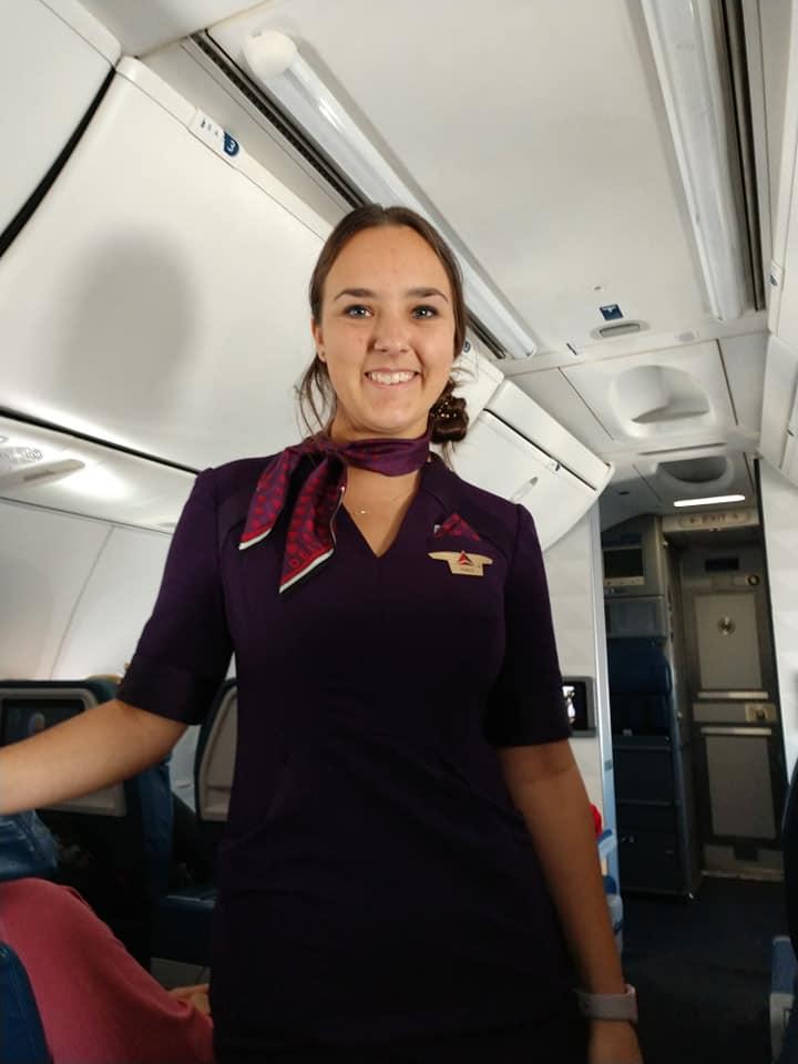Delta Airlines le agradeció a sus trabajadores como Pierce, quienes tuvieron que trabajar durante las fiestas (Foto: Facebook Mike Levy)