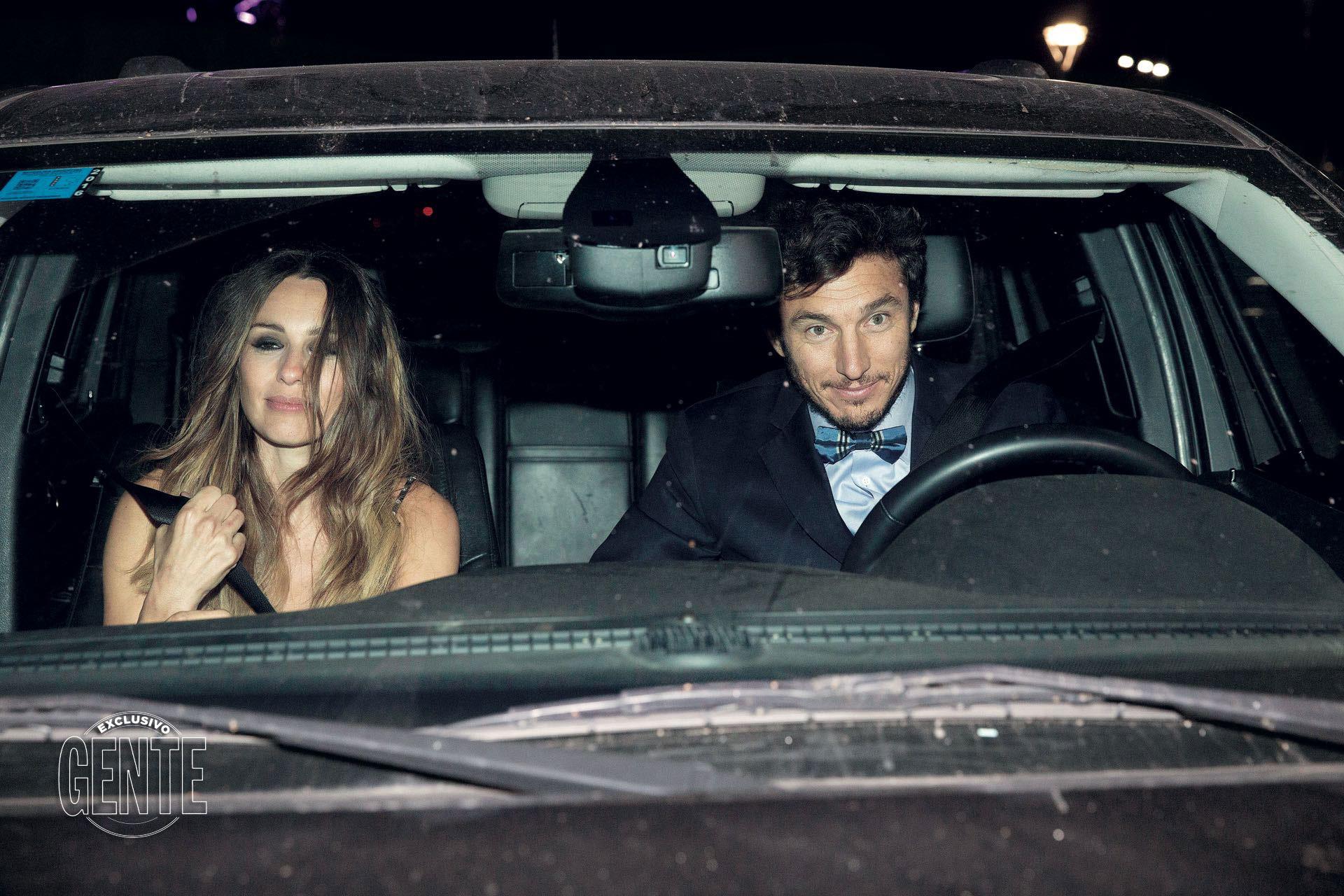 Noviembre de 2016: así blanqueaban su romance, en el Grand Prix de Baron B.