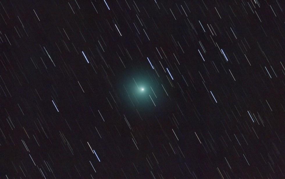 La Cometa 46P/Wirtanen apareció en el cielo en diciembre. Fue observada por primera vez hace 70 años (ESA)