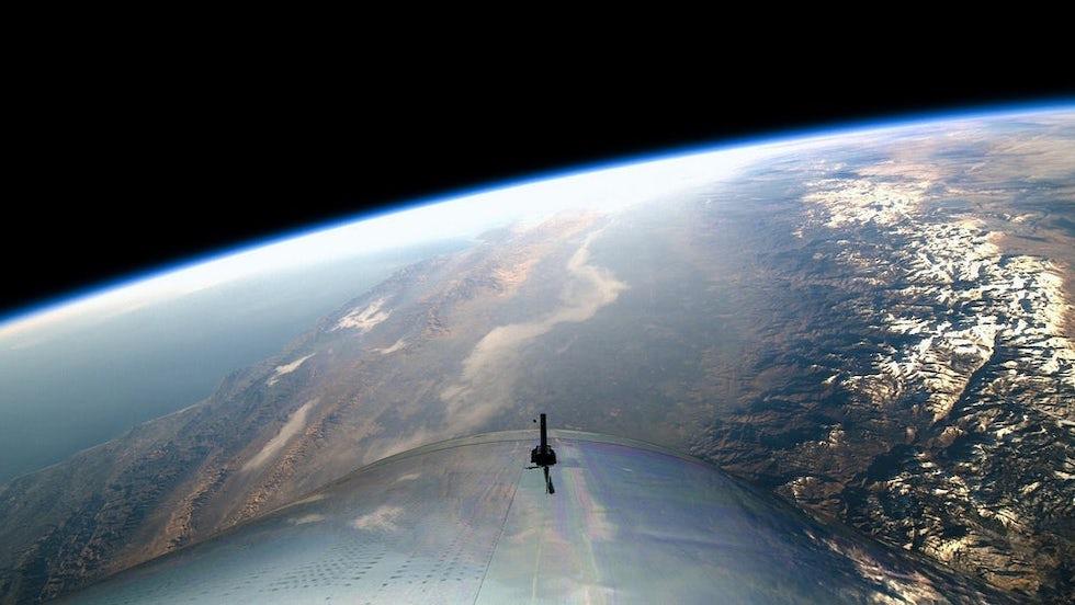 El primer vuelo espacial de Virgin Galactic el 13 de diciembre (Virgin Galactic)