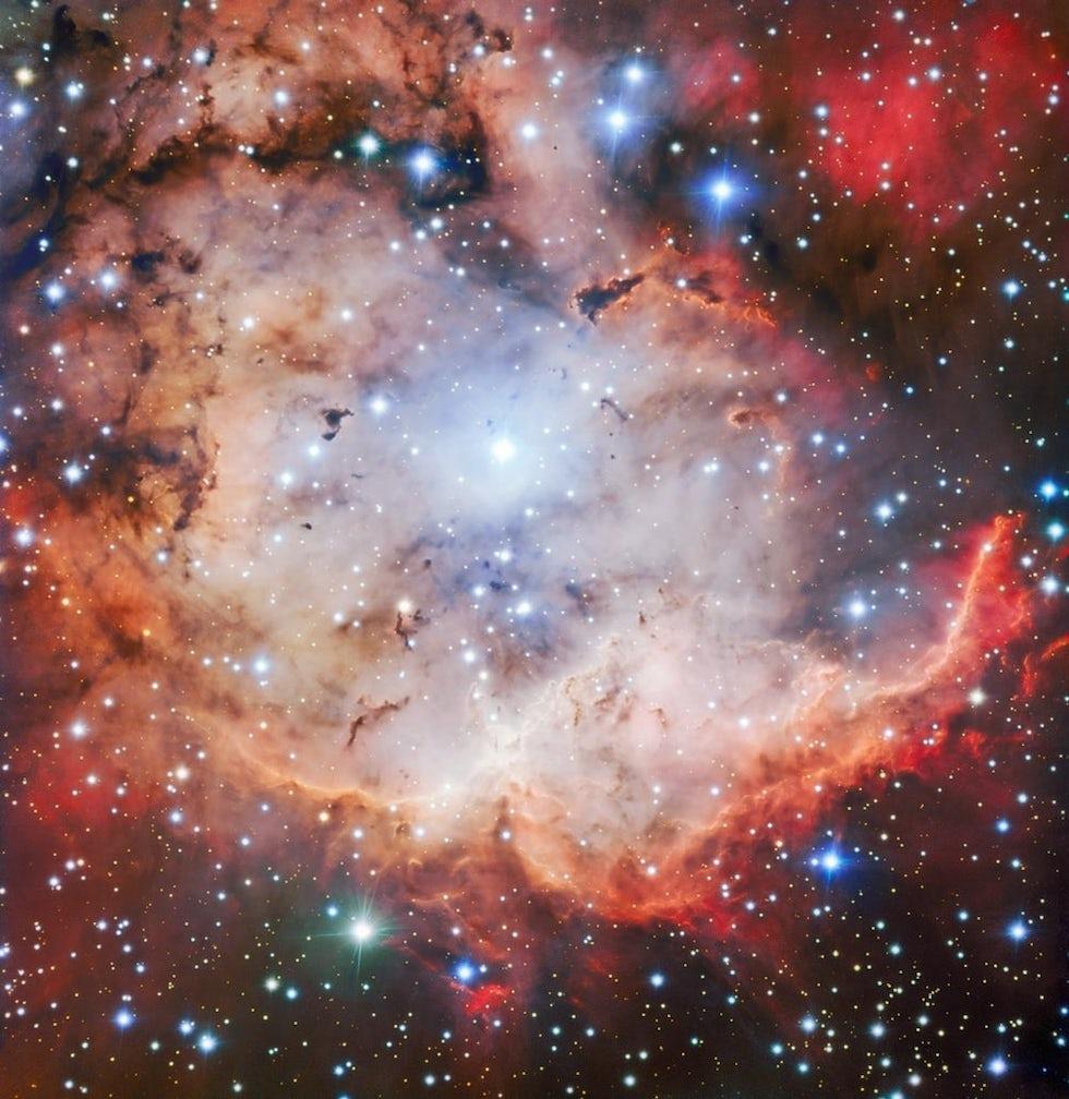 La Nebulosa Calavera es una región en la que se forma una gran cantidad de estrellas (ESO)