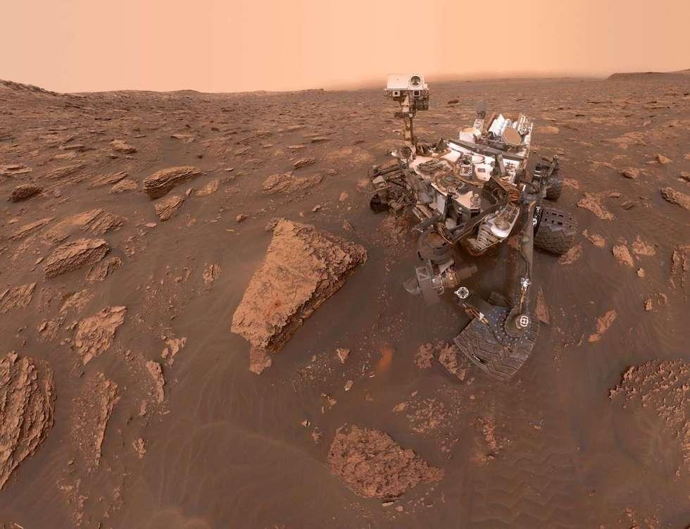 Una selfie del rover Curiosity de la NASA el 20 de junio (NASA/JPL)