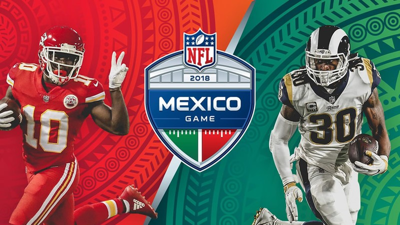 El juego entre Chiefs y Rams se canceló por el mal estado de la cancha del Estadio Azteca (Foto: Twitter Chiefs)