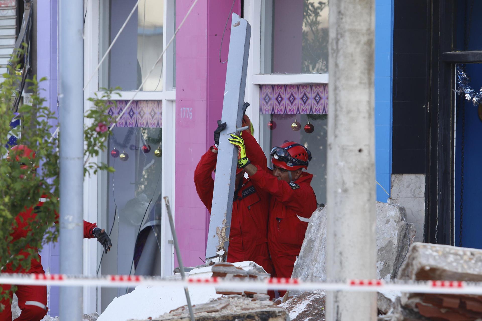 En la zona colocarán una malla protectora por miedo a que sucedan otros derrumbes