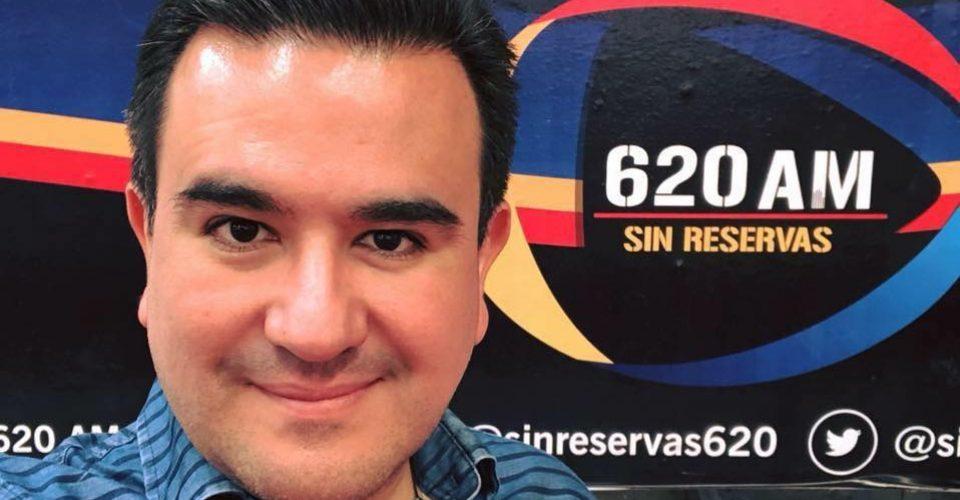 Apenas tres meses antes de su asesinato, Huerta había conseguido la concesión para su estación de radio (Foto: Redes sociales)