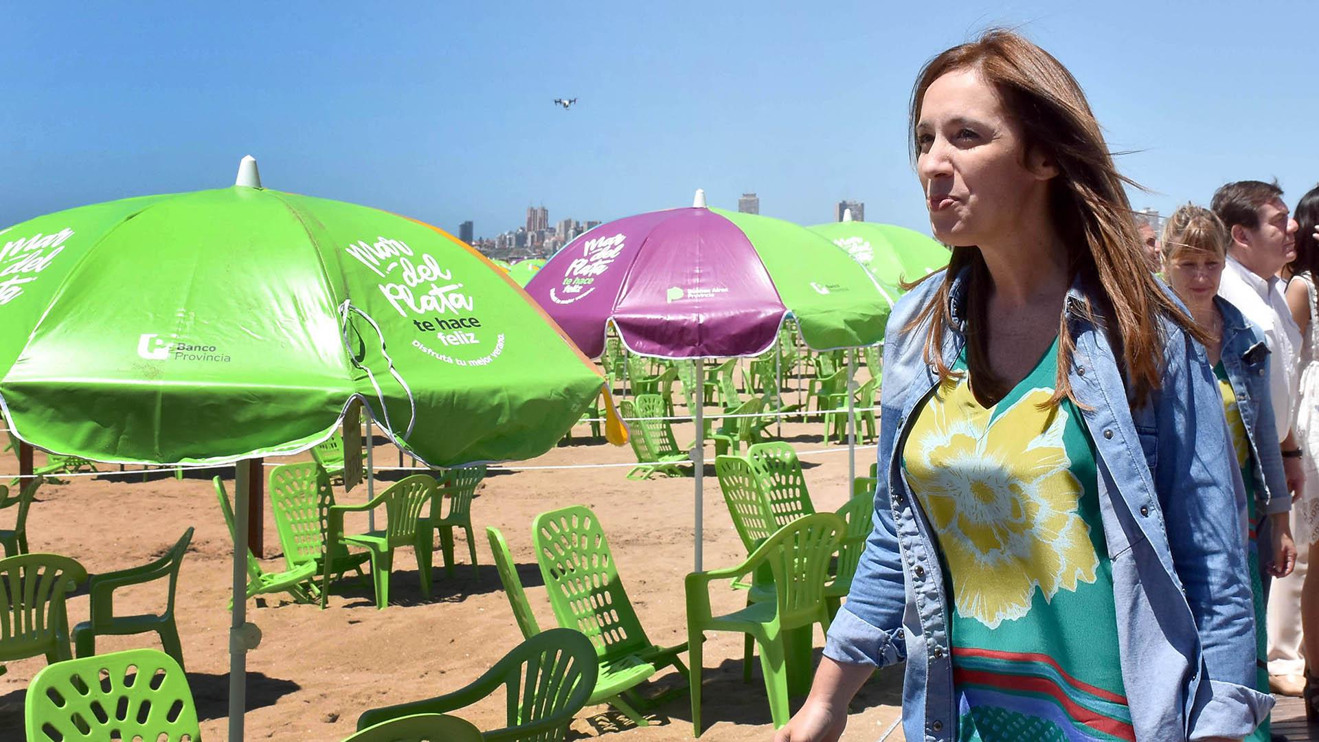 María Eugenia Vidal sigue de descanso en la costa atlántica y no participó del encuentro en La Patagonia (NA)
