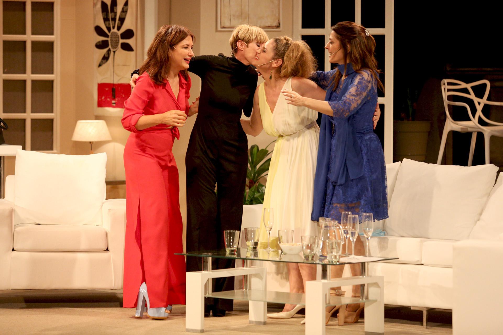 Romina Ricci intrepreta a Inés, el personaje que hacía Nora Cárpena