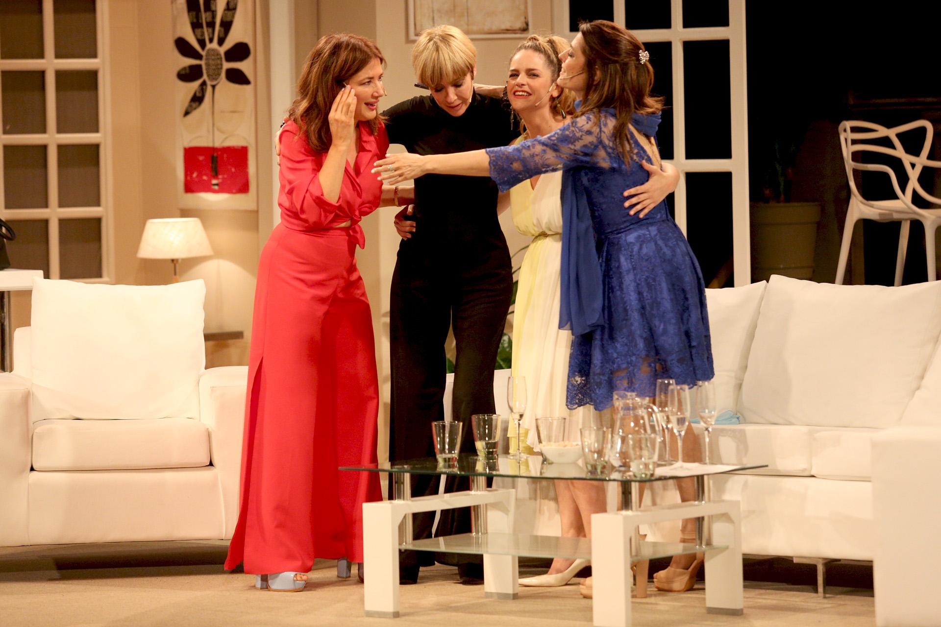 María Socas fue la única actriz que vio la obra original hace varios años, según contó la propia actriz en una reciente entrevista