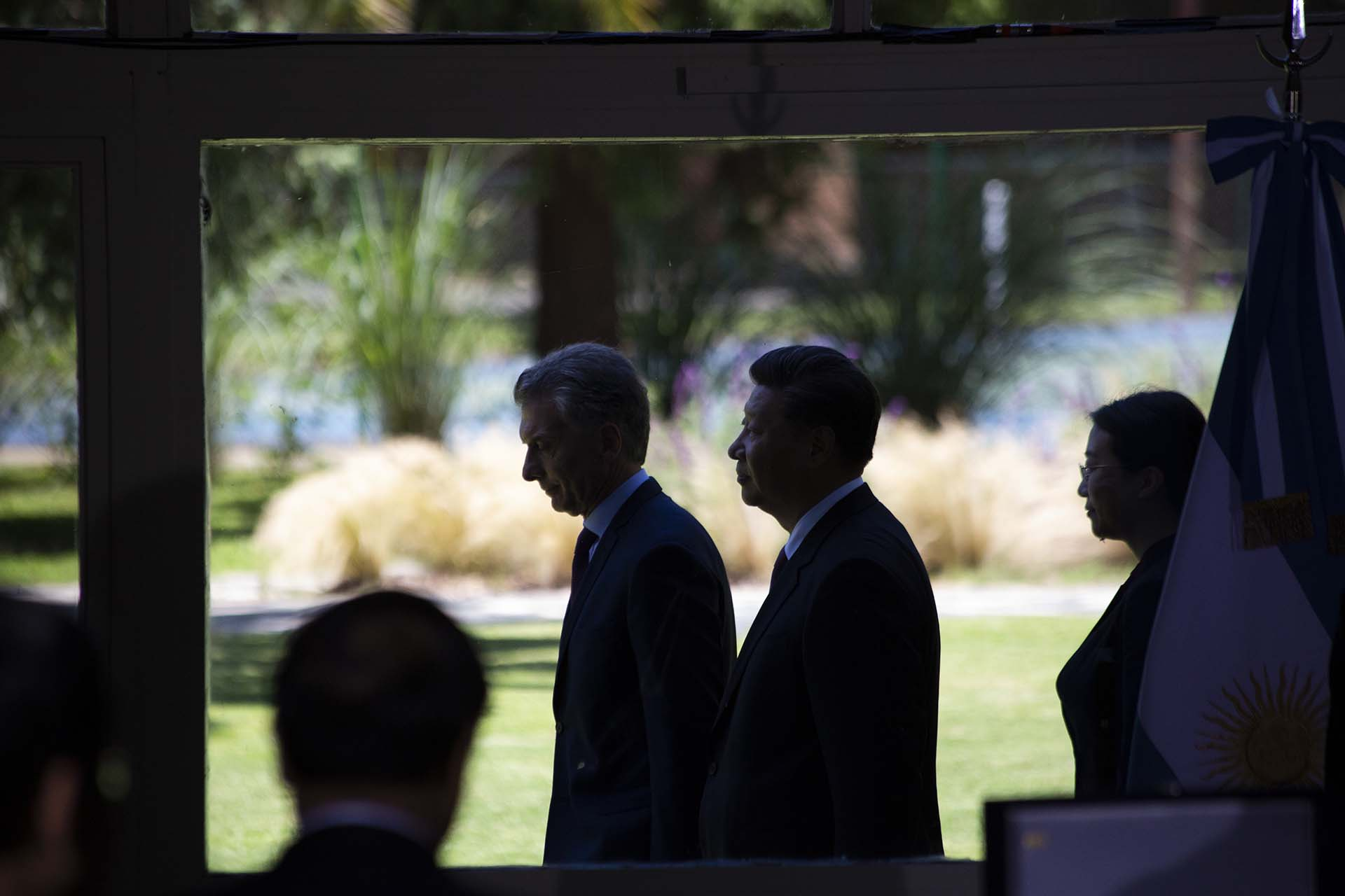 Cumbre entre los presidentes de Argentina y China, Mauricio Macri-Xi Jinping (Matías Baglietto)