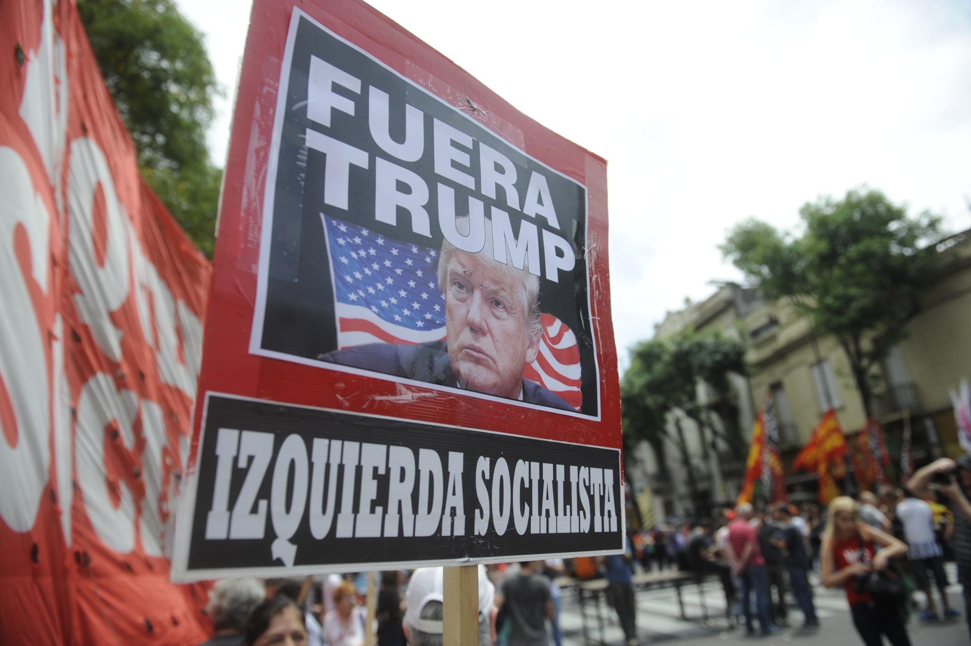 Marcha contra el G20 en el centro de la ciudad de Buenos Aires (Dino Calvo)