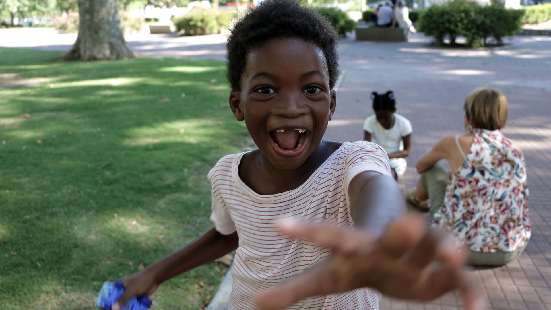 Chicos de Haití fueron adopatados por una pareja de padres argentinos (Lihueel Althabe)