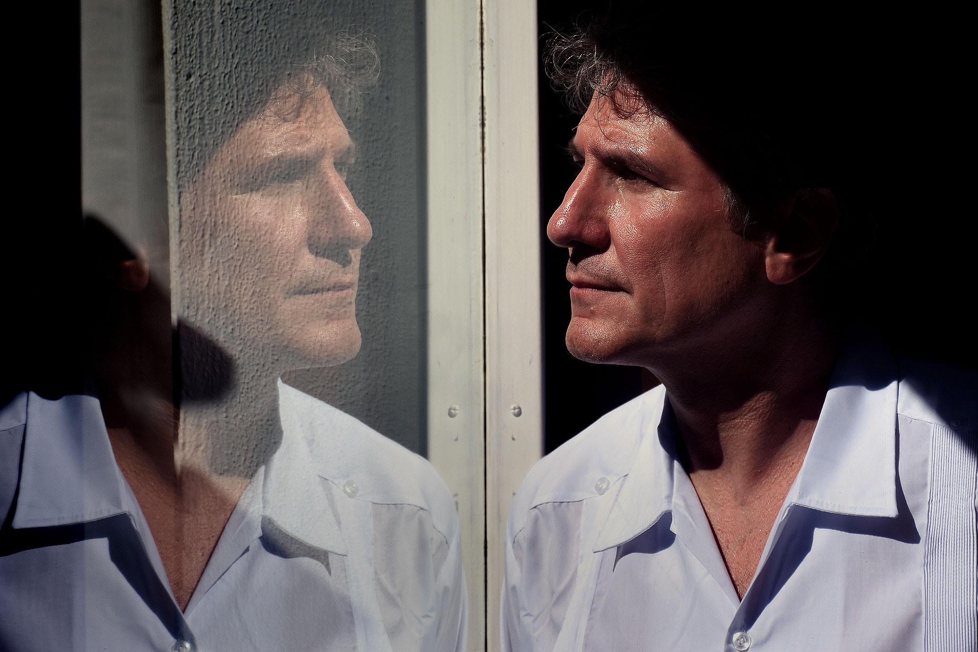Amado Boudou días después de conseguir la libertad en el penal de Ezeiza (Nicolás Stulberg)