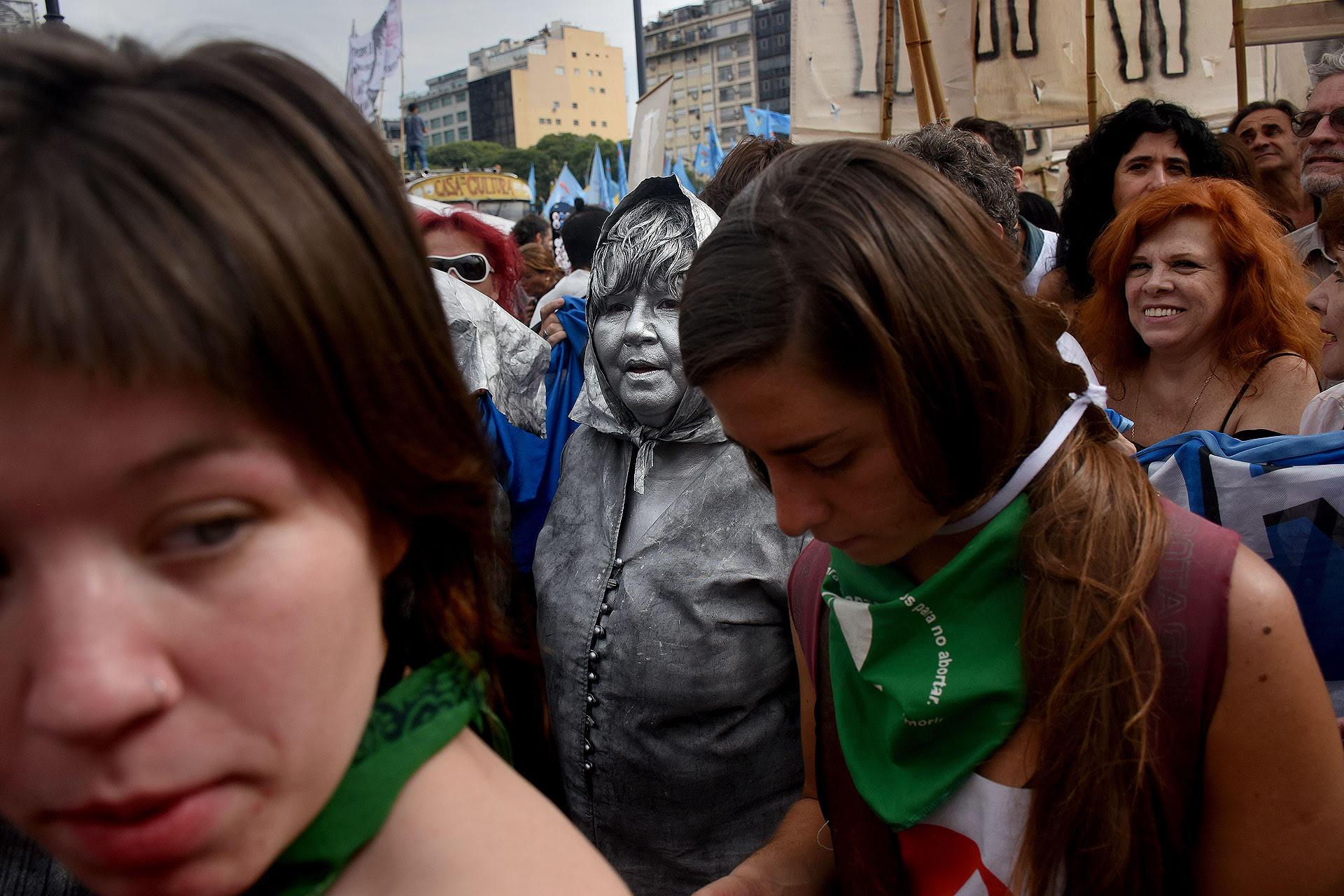 """Marcha """"Ni una menos"""" en Buenos Aires"""" (Nicolás Stulberg)"""
