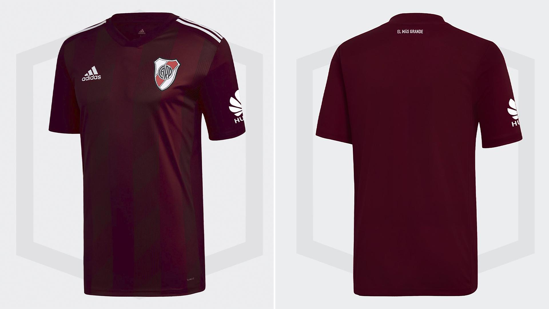 Así sería la tercera camiseta de River en el 2019