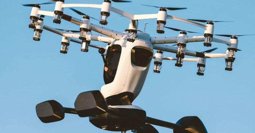 El aterrizaje de la aeronave puede controlarse desde un ipad (Crédito: @RobotShop)