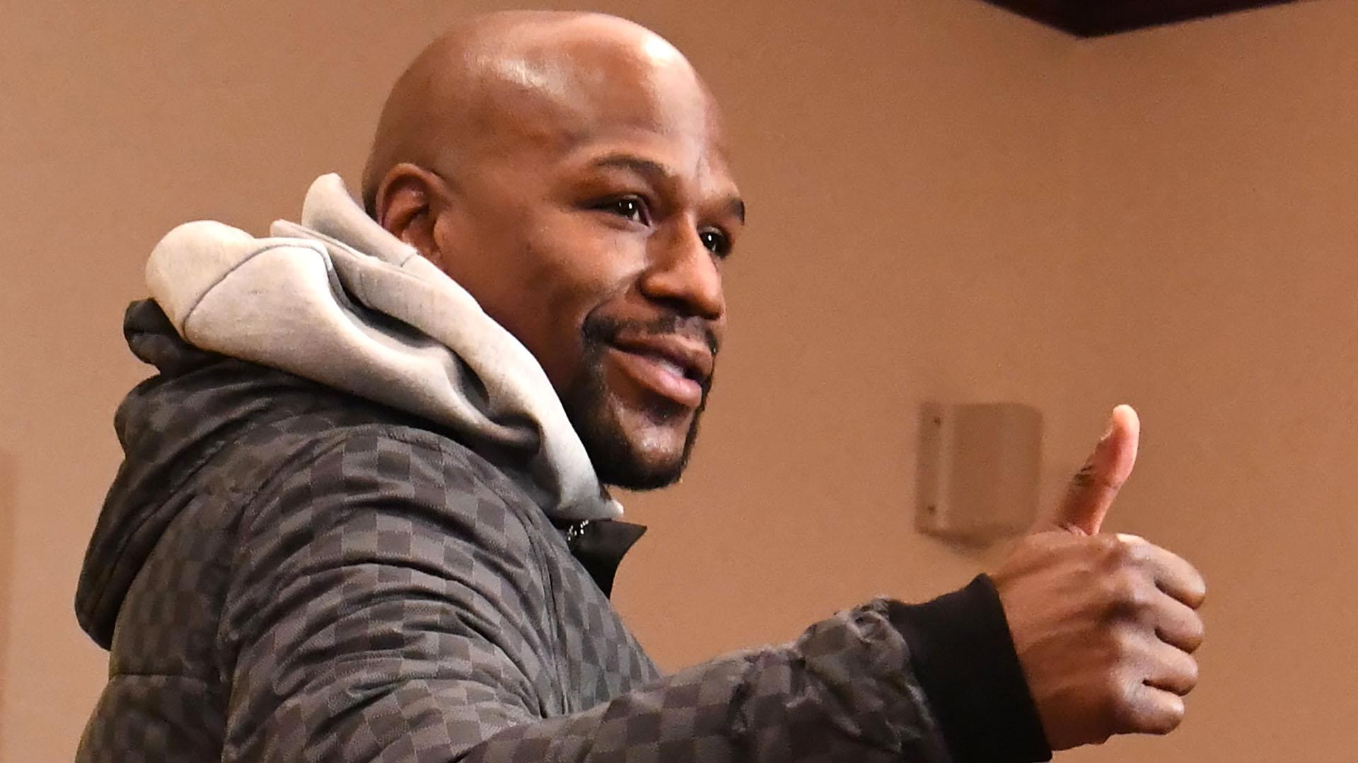 El ex boxeador posee más de 100 autos de lujo (Foto: AFP)