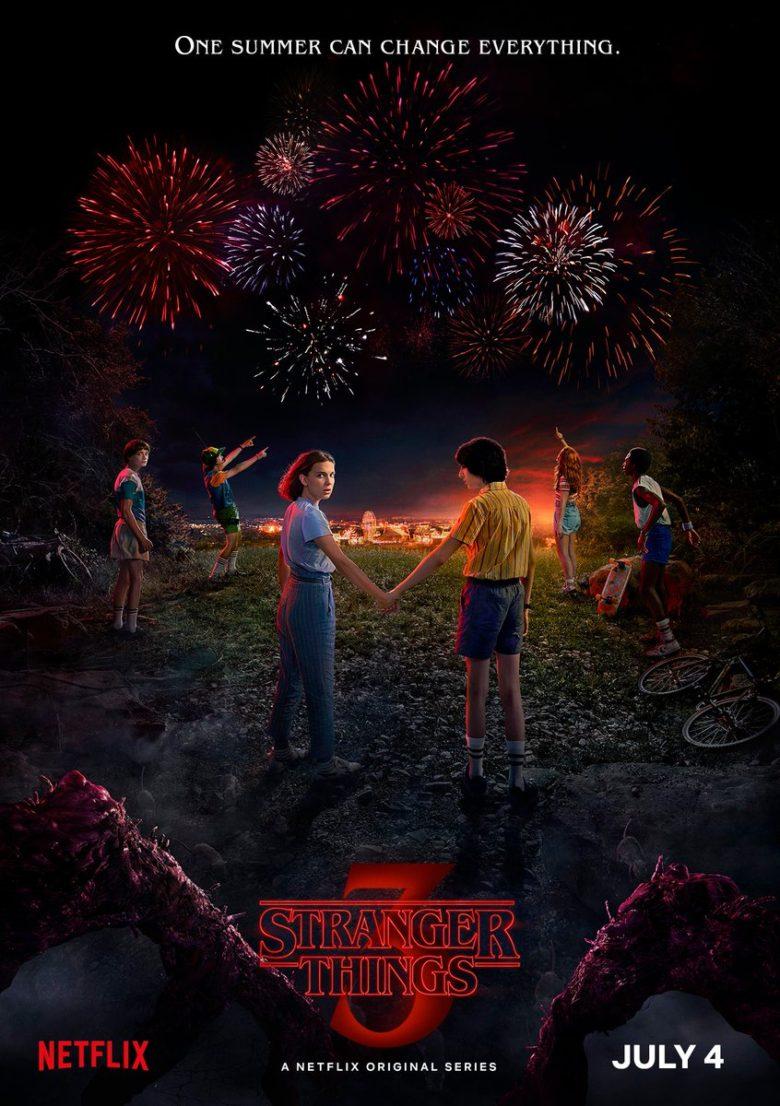 Además de la fecha de estreno y el teaser, Netflix también compartió el cartel oficial de la tercera entrega (Foto: Twitter Stranger_Things)