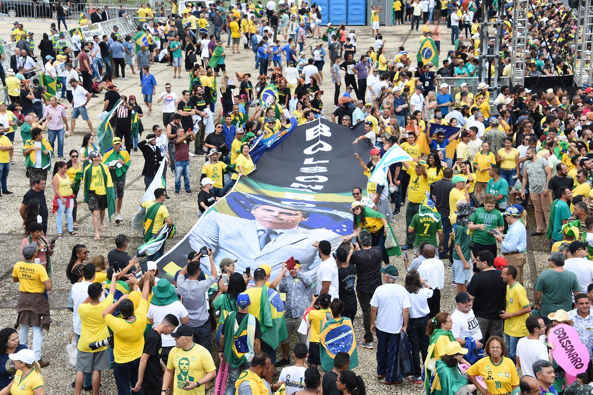 Se espera que entre 250.000 y 500.000 personas asistan a la ceremonia (EVARISTO SA / AFP)