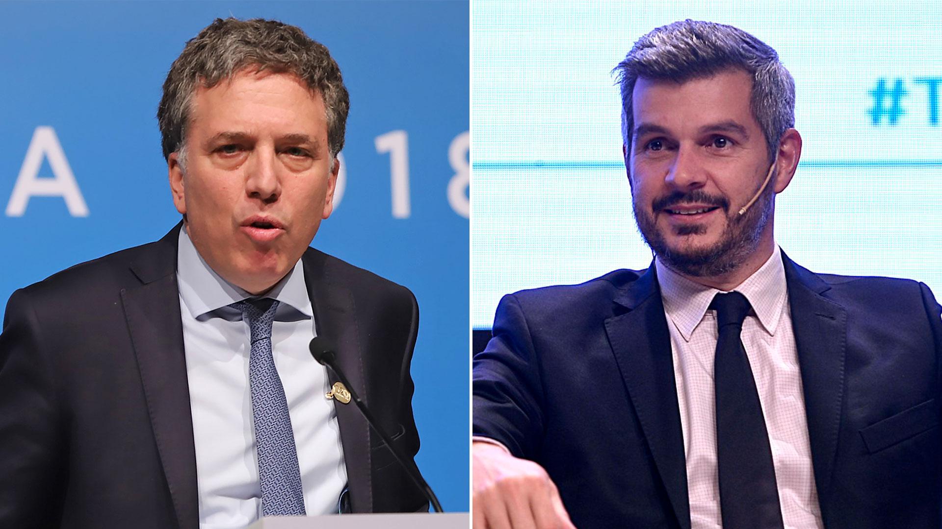 Nicolas Dujovne y Marcos Peña volvieron a ajustar el Presupuesto, para contar con mayor flexibilidad para la autorización de nuevos gastos corrientes