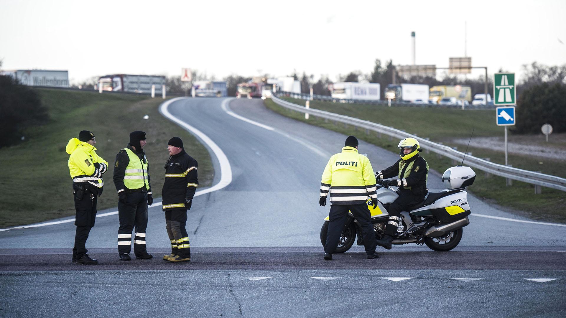 El tránsito en la conexión terrestre permanece cerrado (AFP)