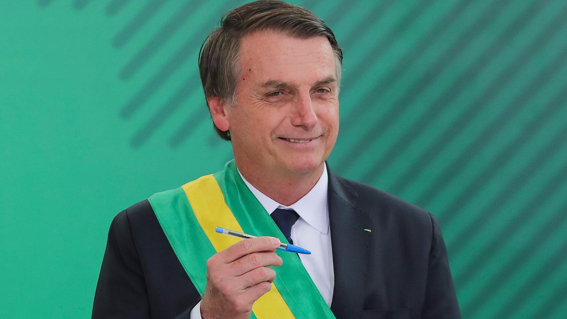 Jair Bolsonaro,presidente de Brasil (AFP)