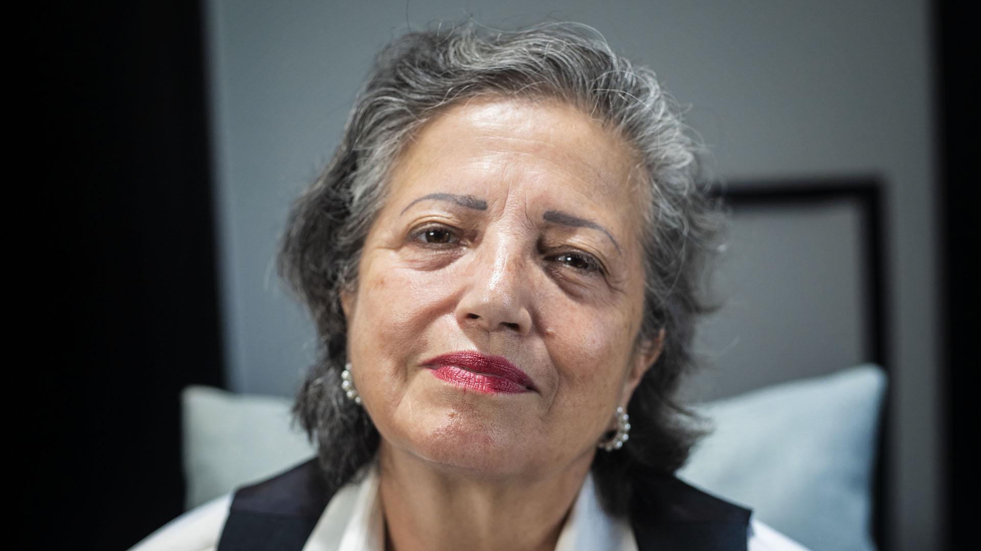 Una foto actual de María Elena Cisneros (Lihue Althabe)