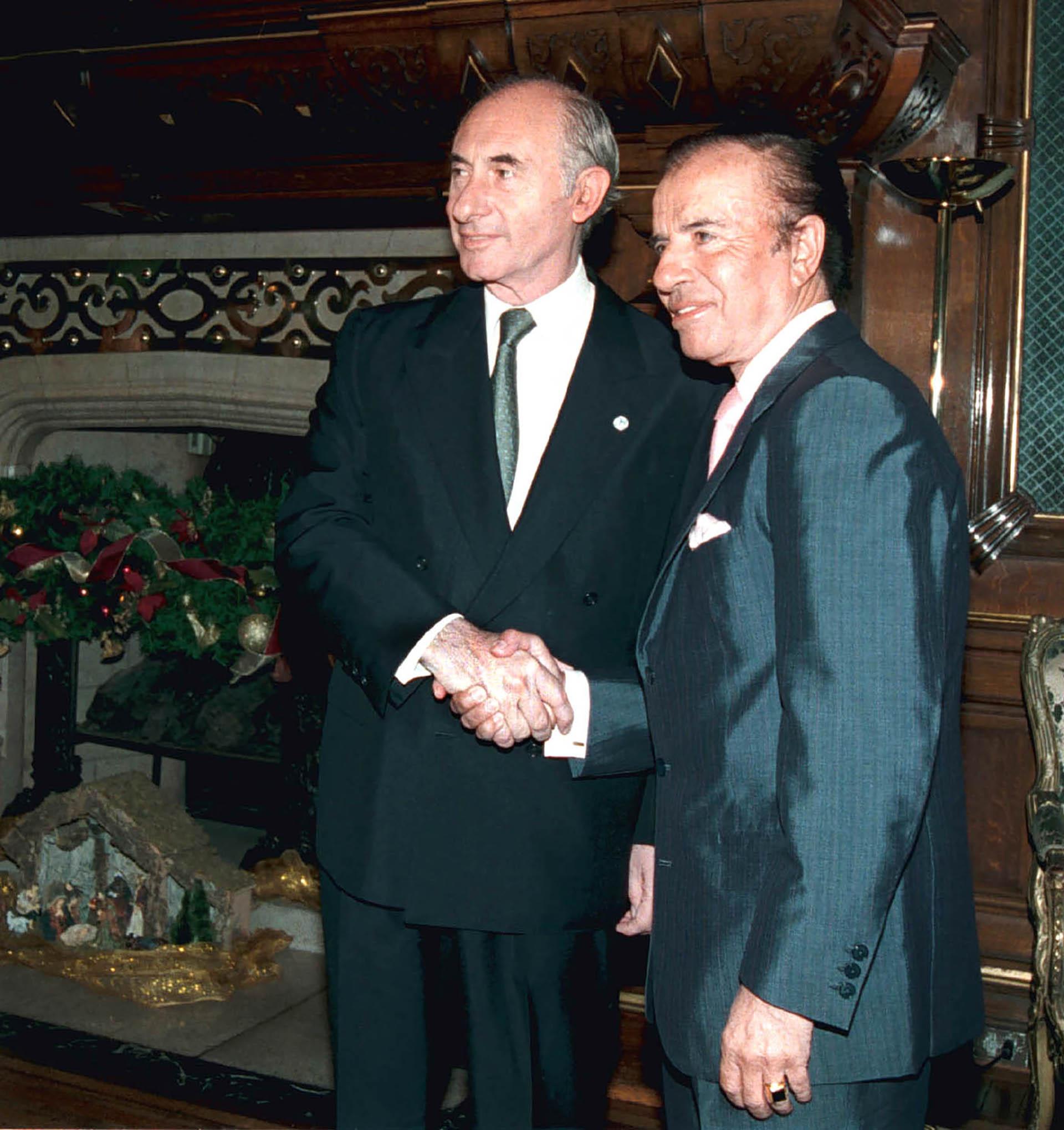La reunión entre ambos tuvo lugar en el despacho presidencial