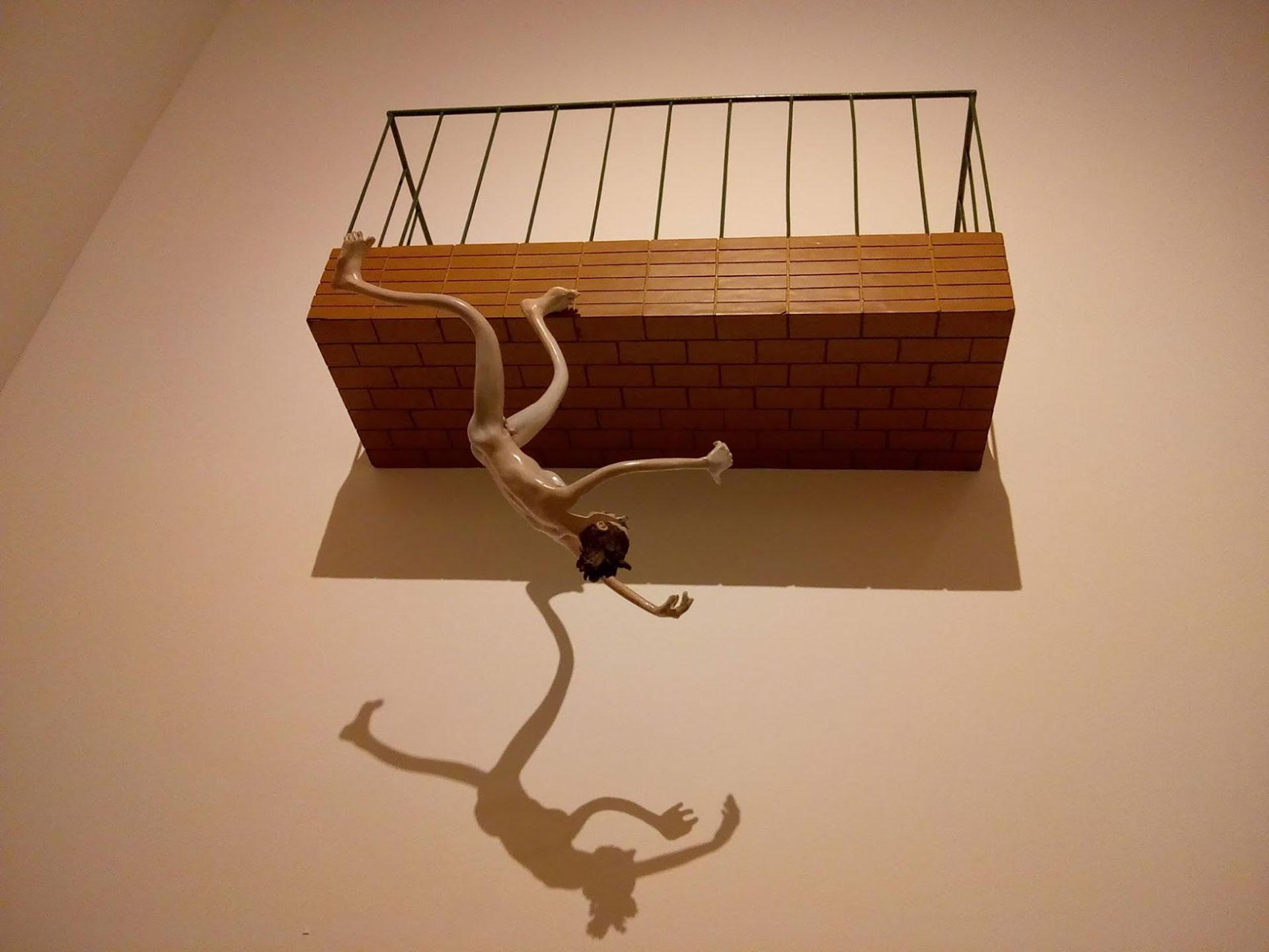 """Pablo Suárez, """"¡Oh destino fatal!"""" (1997), exhibida en el MALBA"""