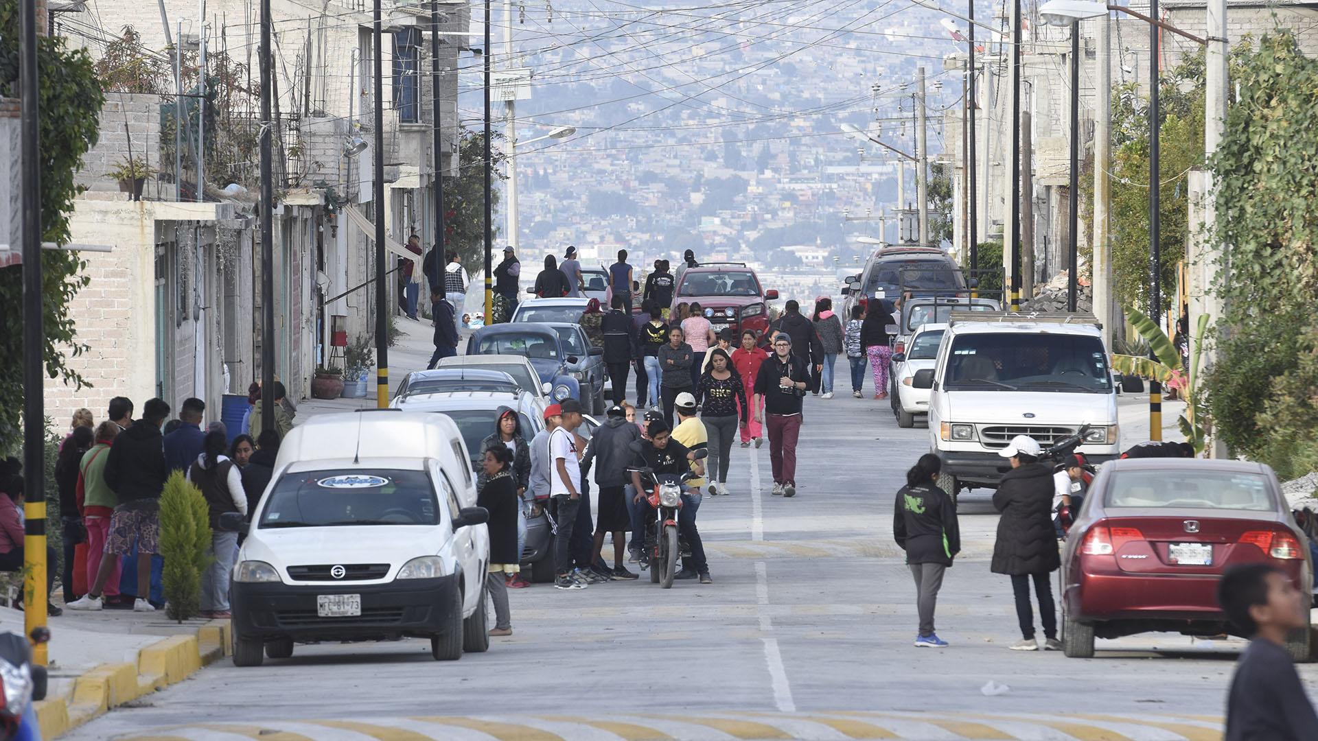 Previo a su captura en Puebla, todos los habitantes de Chalco se movilizaron para su localización (Foto: Cuartoscuro)