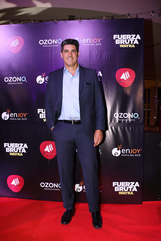Javier Azcurra, director de Hotel y Relaciones Públicas de Enjoy Punta del Este