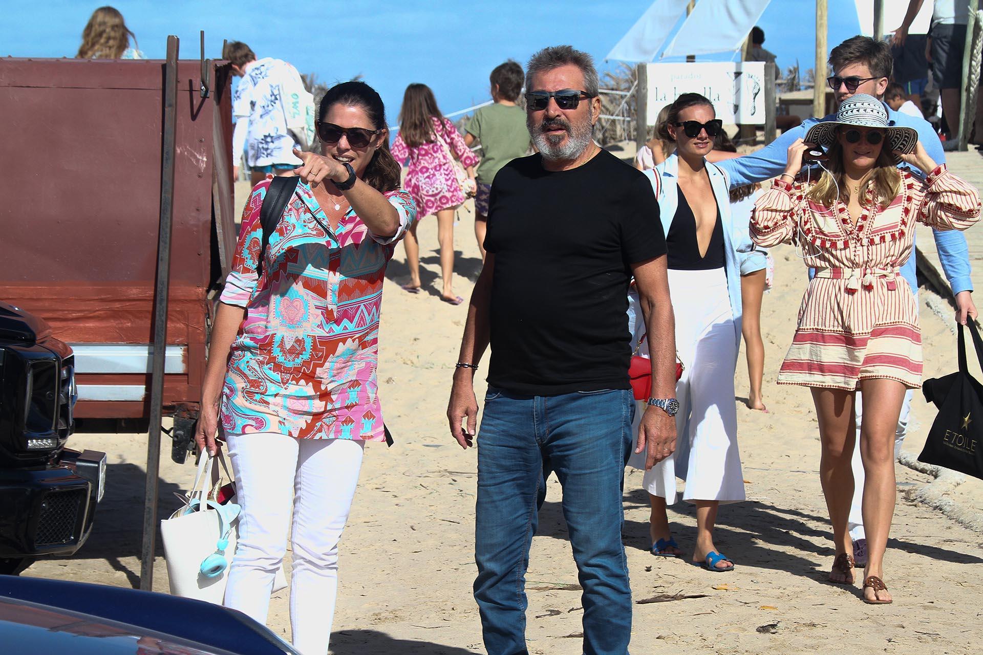 Pamela David y Daniel Vila, en José Ignacio (Fotos: GM Press)