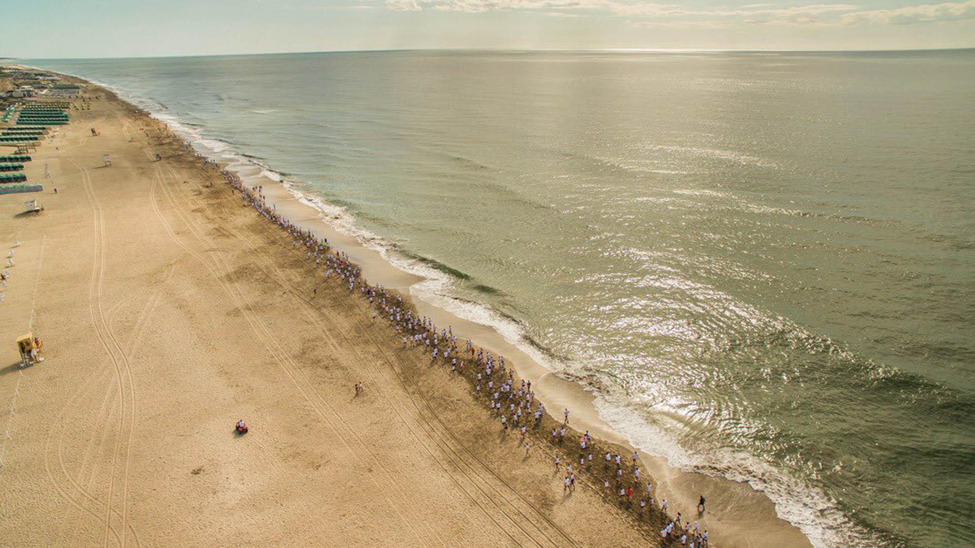 La 10K de Pinamar es una de las tradicional, junto a la Maratón del Desierto