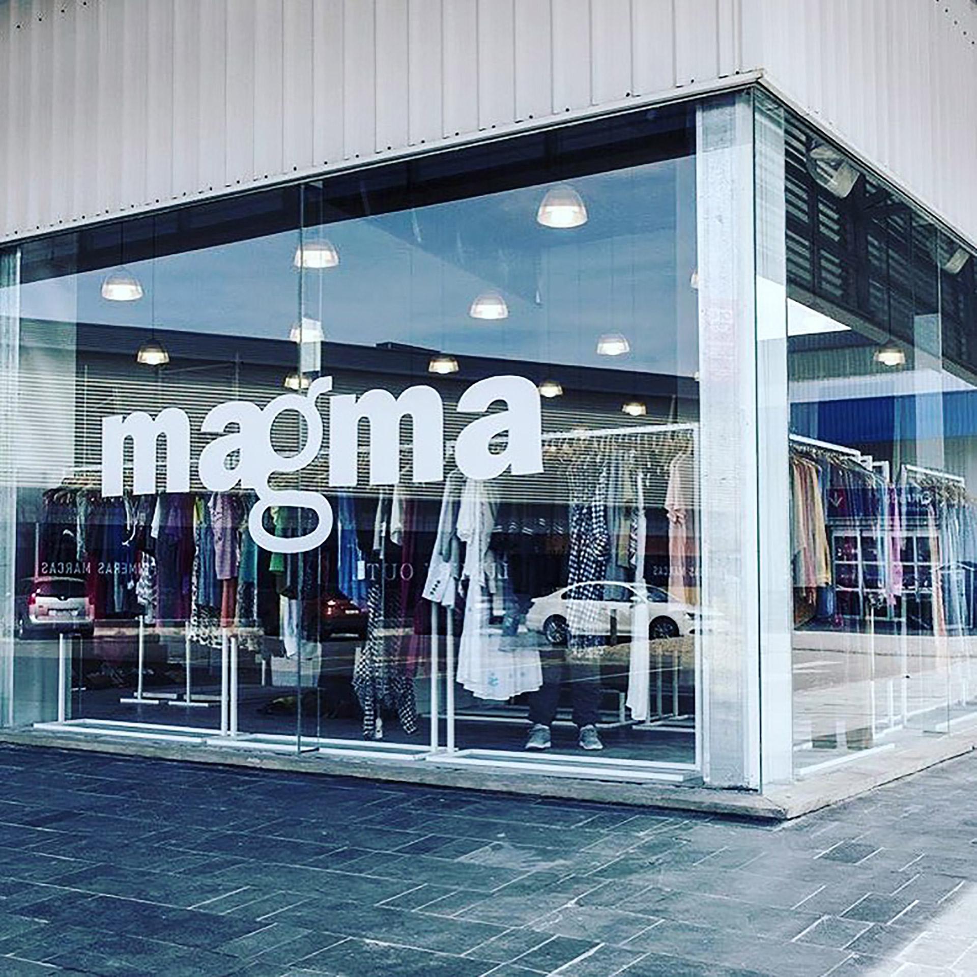 Magma alberga multimarcas nacionales e internacionales con una propuesta integral para el día o la noche