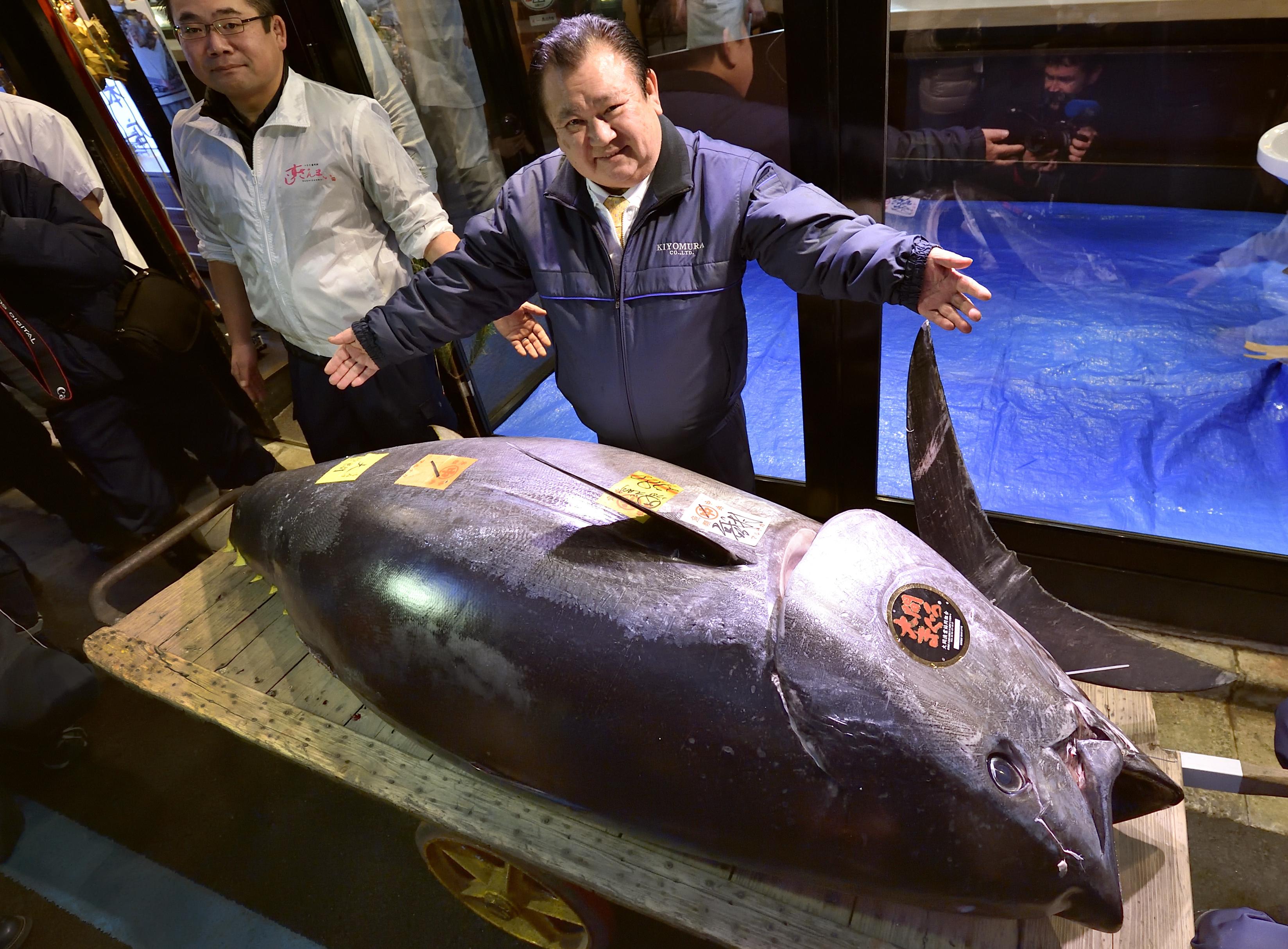 El atún más caro del mundo