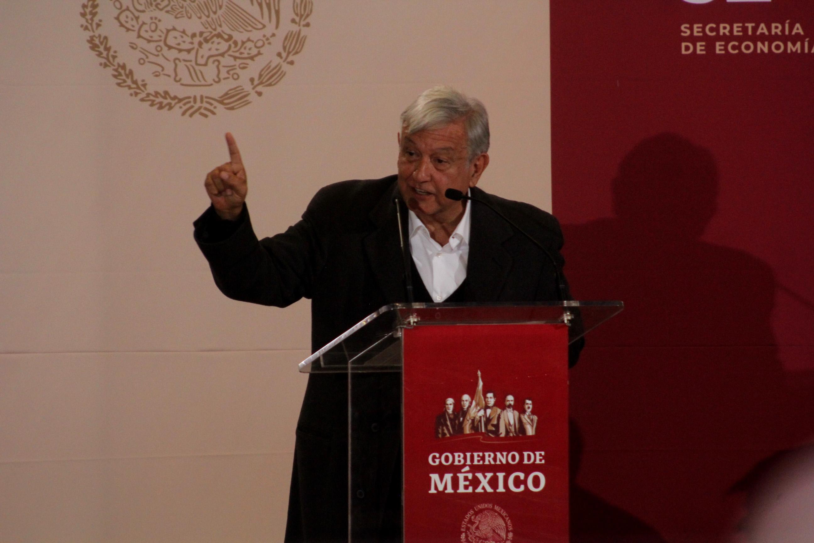 El presidente Andrés Manuel López Obrador hizo el anunció del desabasto de gasolina(FOTO: NACHO RUÍZ /CUARTOSCURO.COM)