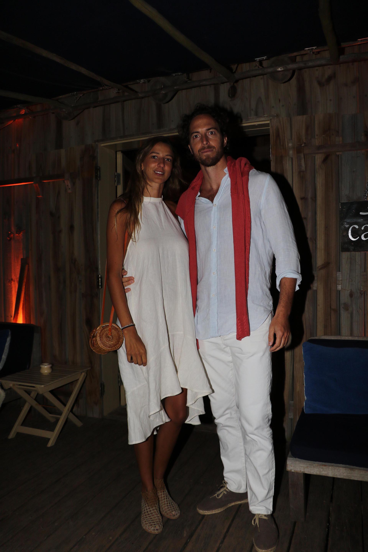 Roger Zaldivar y su novia Enriqueta Márquez Álvarez de Toledo