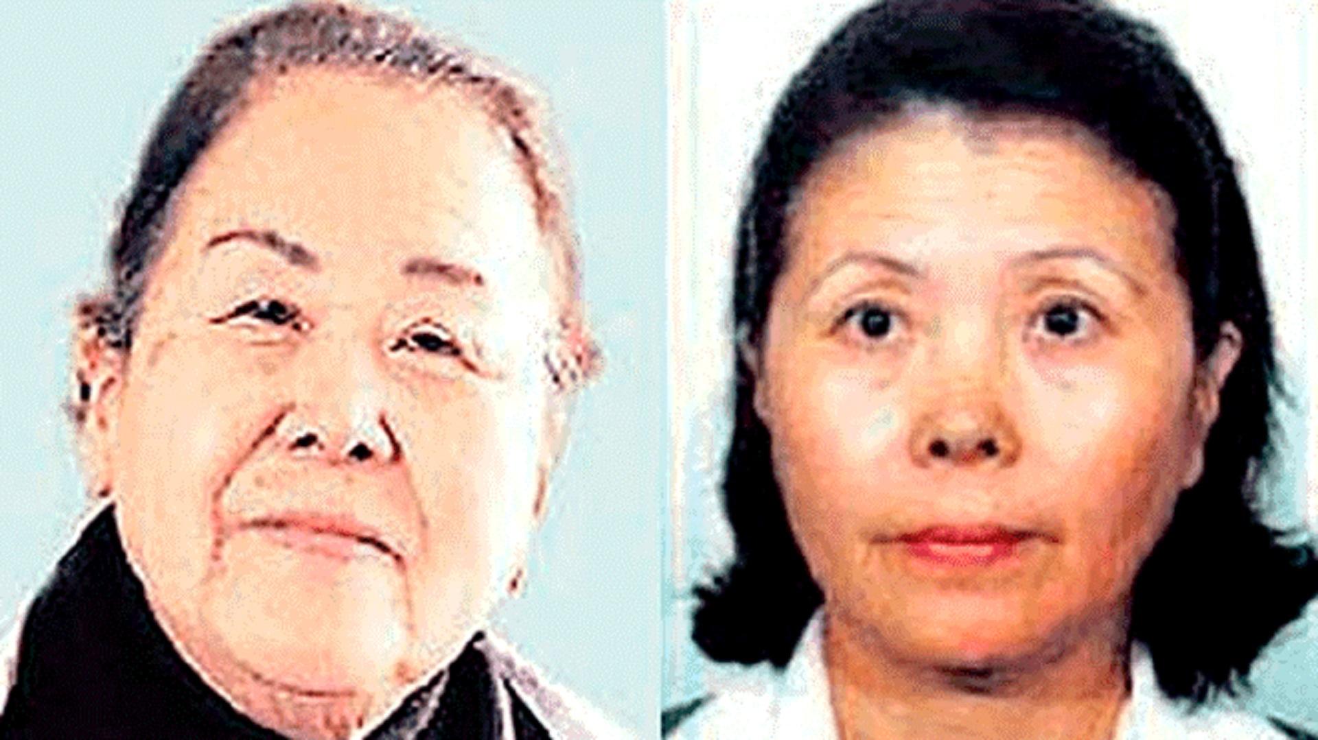 Juana y Rosa Fujimori
