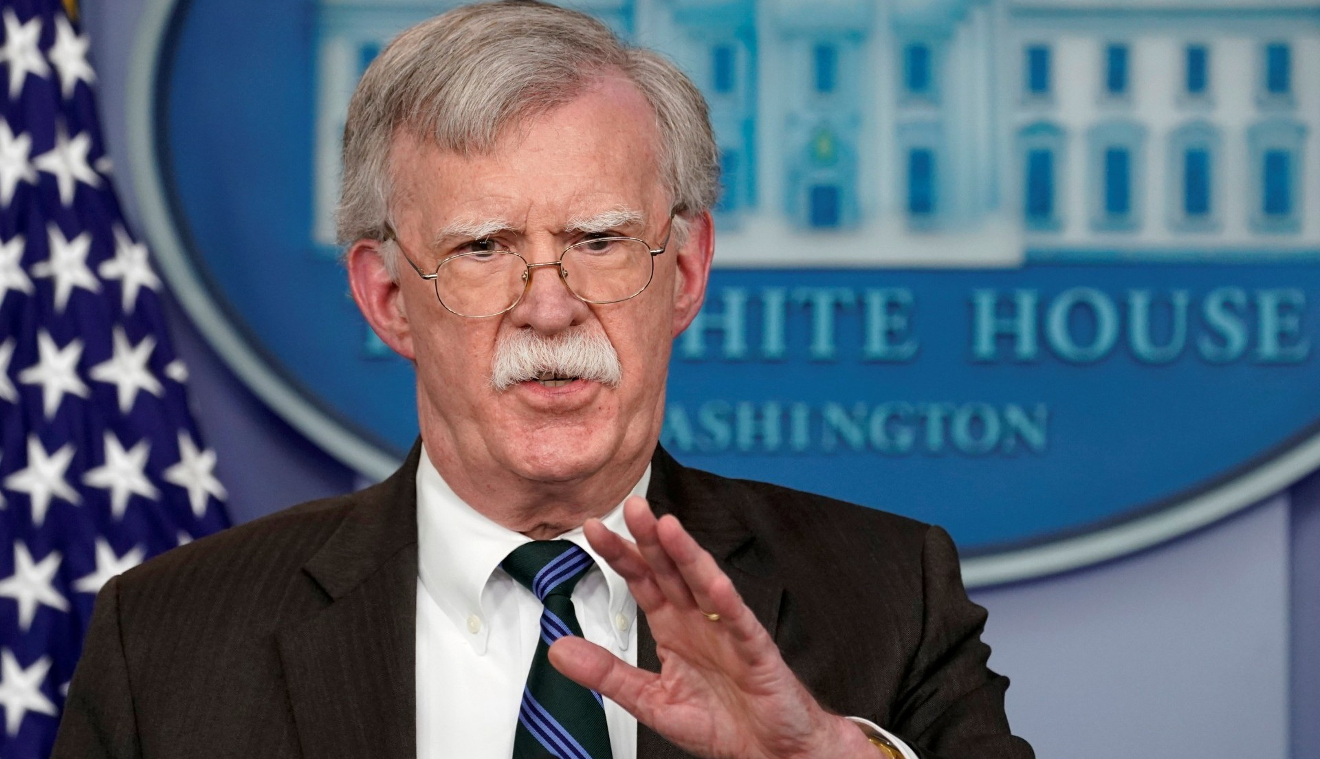 John Bolton,asesor de seguridad nacional de la Casa Blanca. (REUTERS/Kevin Lamarque)