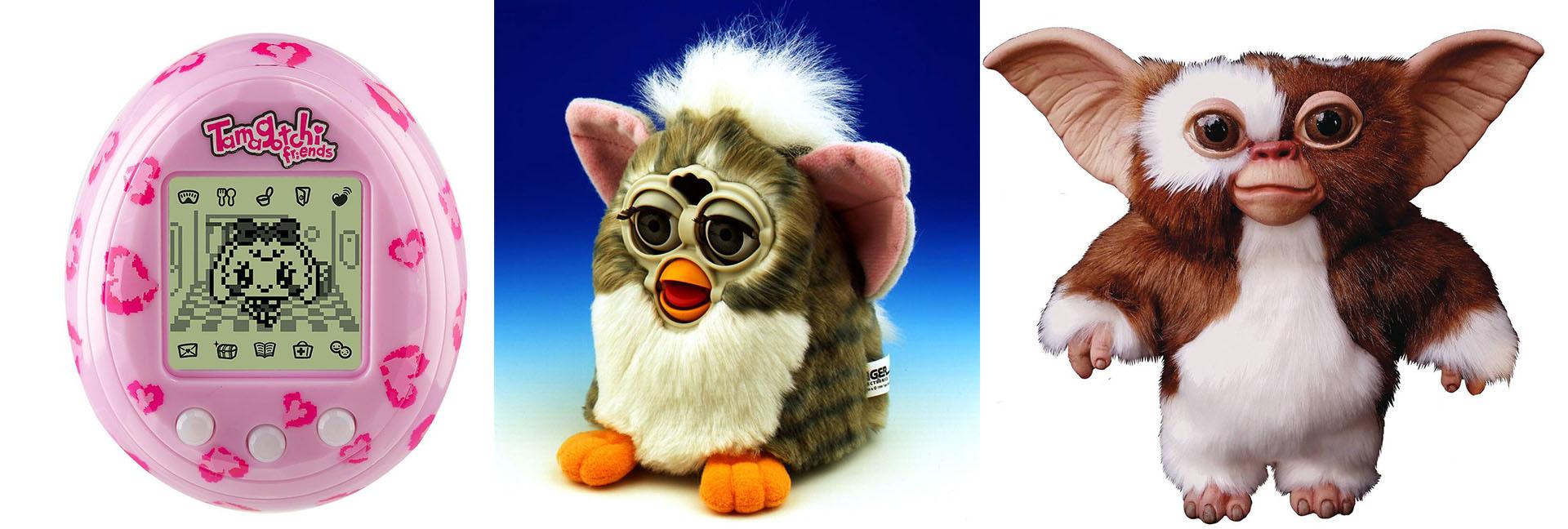 Tamagotchi, Furby y Mogwai