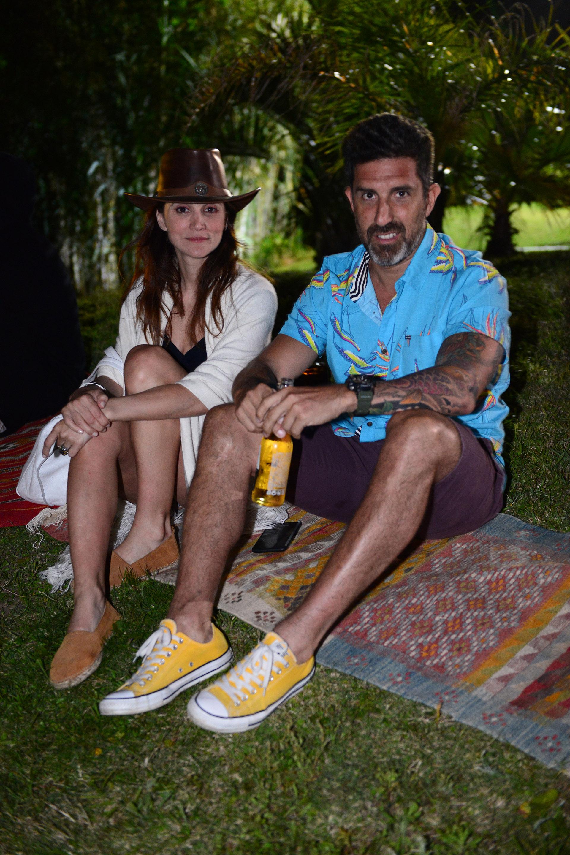 Bárbara Lombardo y Julián Varde