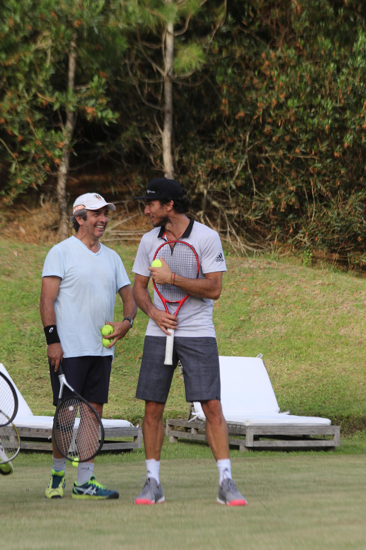 "Ricardo Darín y Juan ""Pico"" Mónaco"