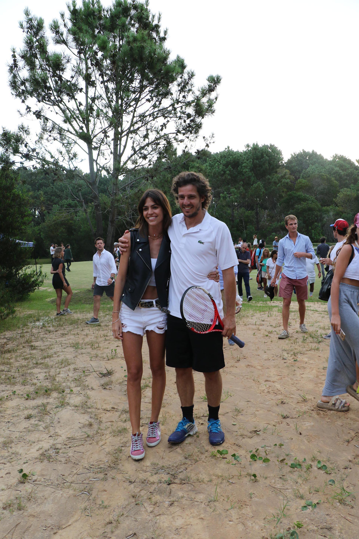 Gastón Gaudio y su novia Elena Ayerza