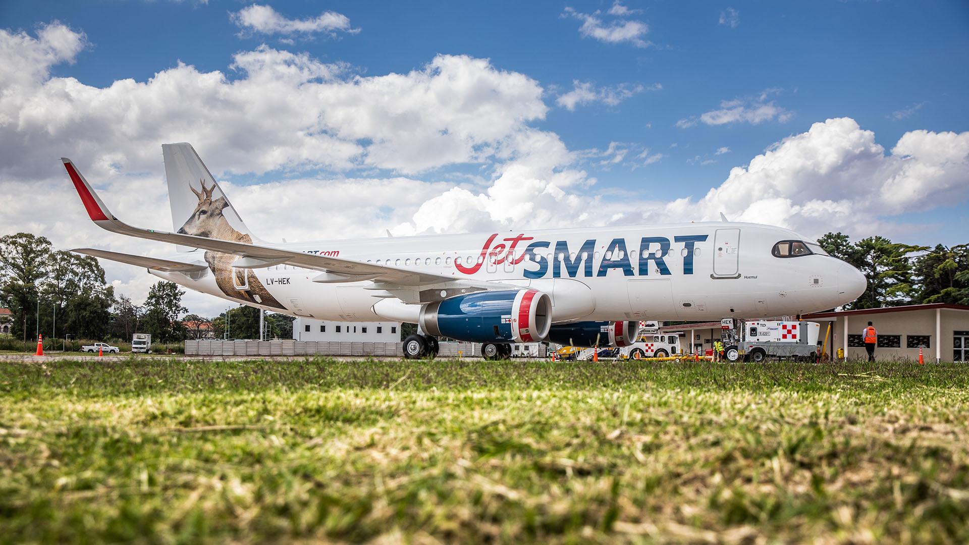 La empresa cuenta con aviones Airbus A320