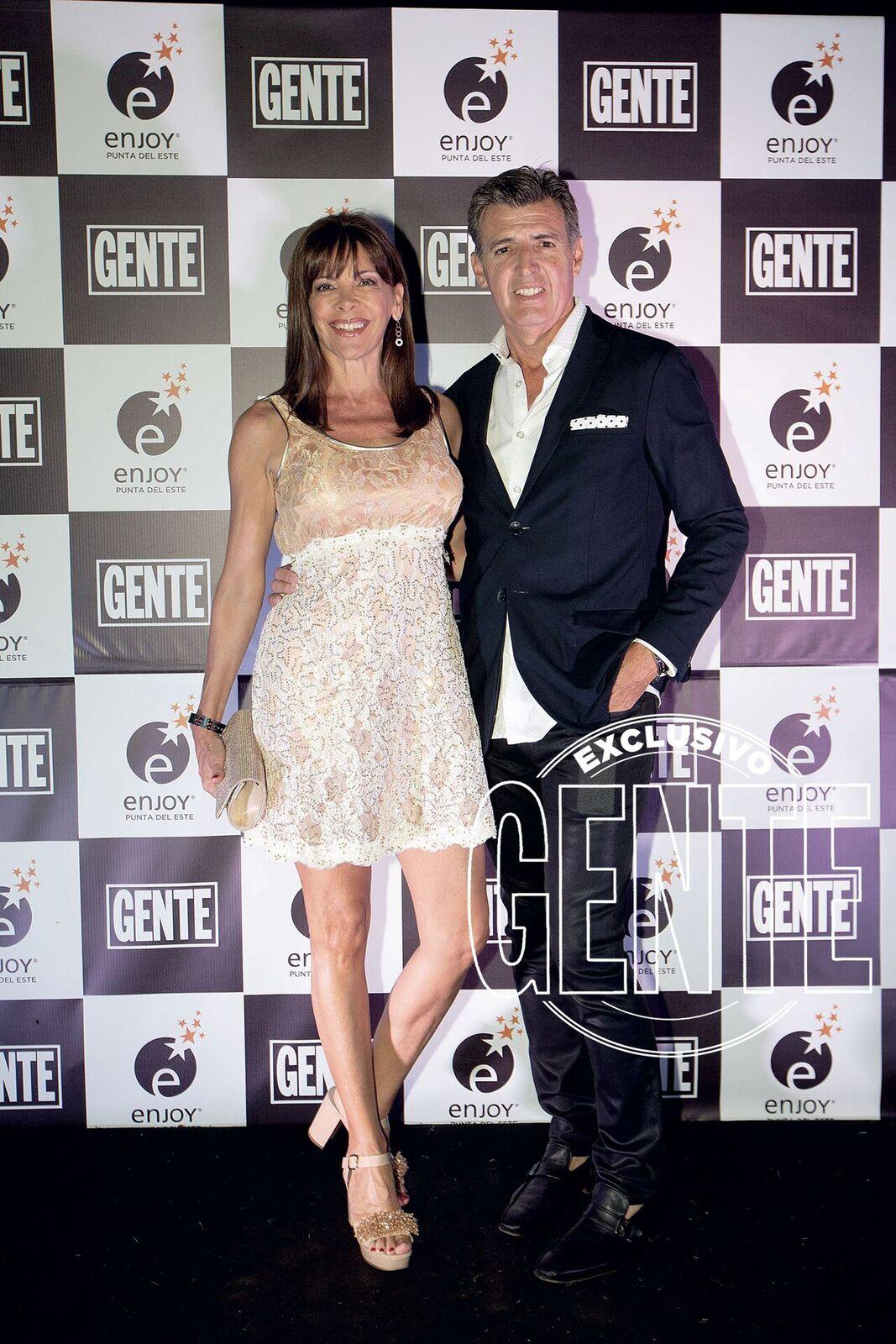 Fabiana Araujo y Alex Pérez Escoda.
