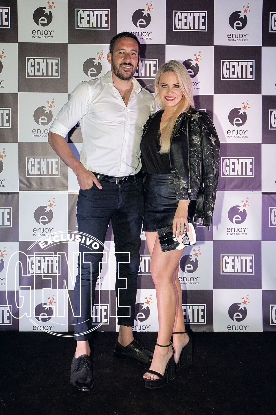 Jonás Gutierrez y Alejandra Maglietti.