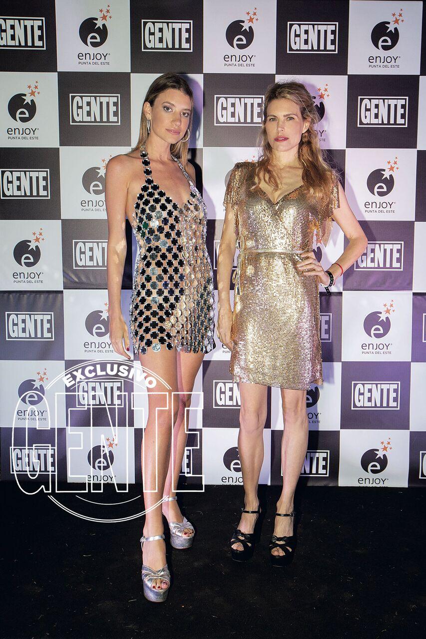 Angie Landaburu y Julieta Kemble.