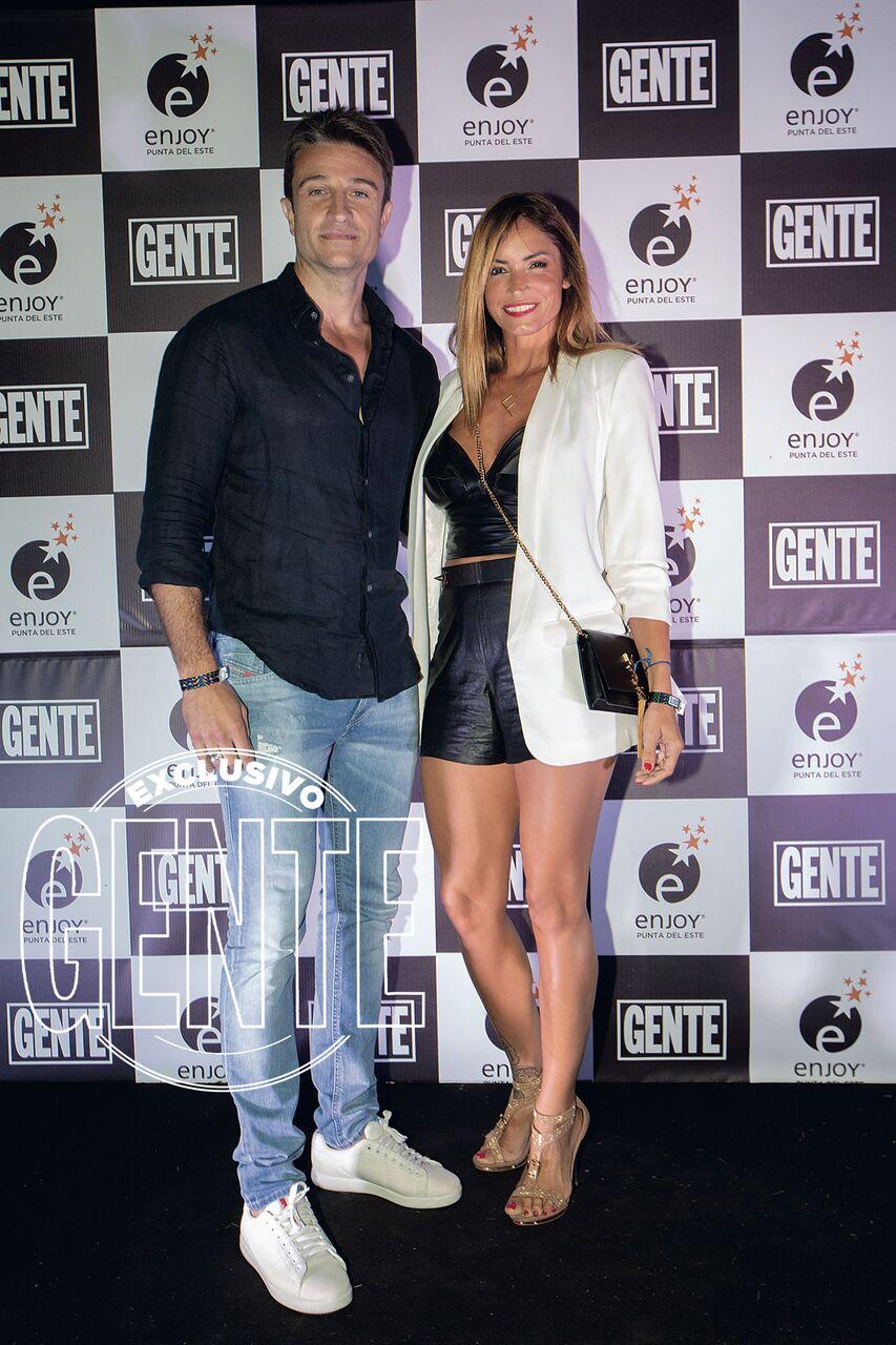 Claudia Fernández y Leonel Delménico.