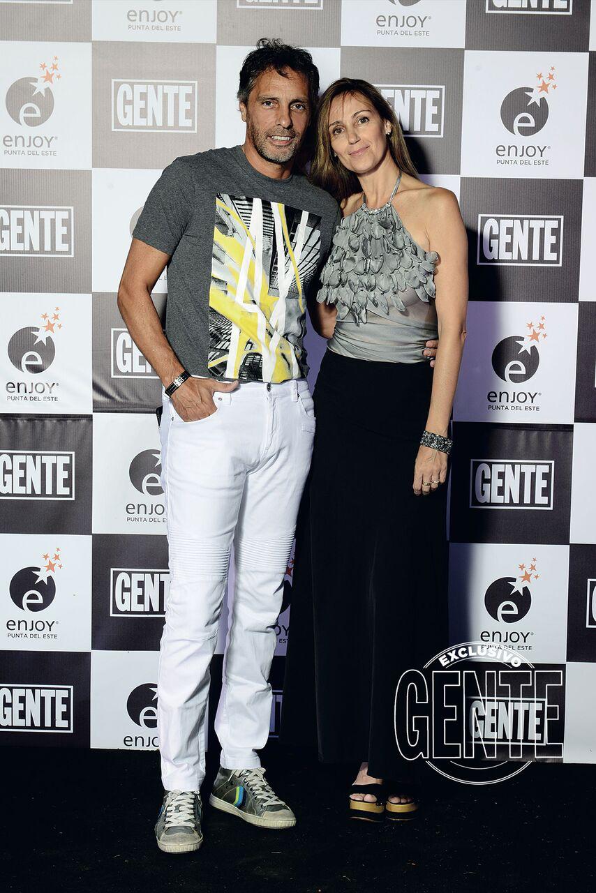 Gustavo López y Laura Subise.